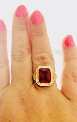 Beautiful Red Ring. Jewelry. Size 8. for Sale in North Fort Myers, FL