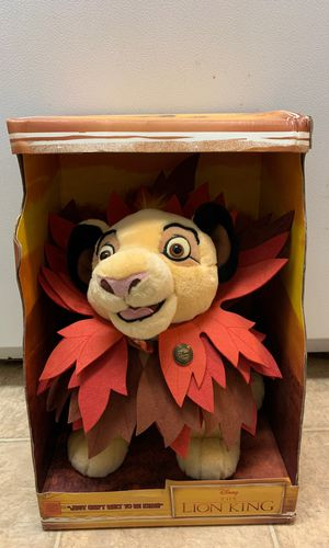 Disney minutes edition simba plush for Sale in Poway, CA