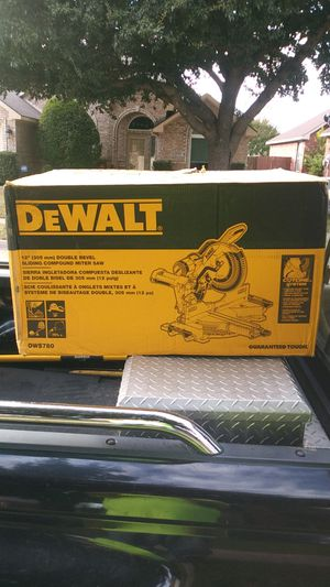 "DEWALT 12"" Double Bevel Sliding Compound Miter Saw for Sale in Fort Worth, TX"
