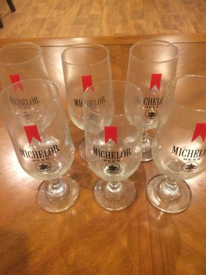 Michelob Beer Bar Glasses for Sale in South Easton, MA