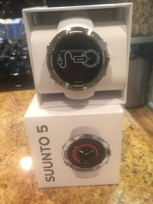 Suunto 5 gps smart watch for Sale in Bowie, MD