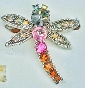 Liz Claiborne Rhinestone Dragonfly brooch or pin ! for Sale in Saginaw, MI
