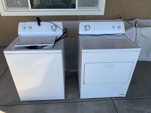 Whirlpool Washer and Gas Dryer for Sale in Murrieta, CA