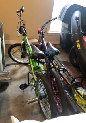 2 bikes, girl and boy for Sale in LaPlace, LA