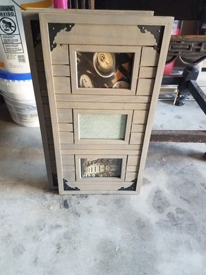 3 wooden antic picture frames for Sale in Gambrills, MD