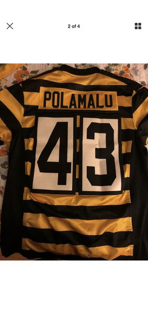 Troy Polamalu Bumble Bee Jersey for Sale in North Providence, RI