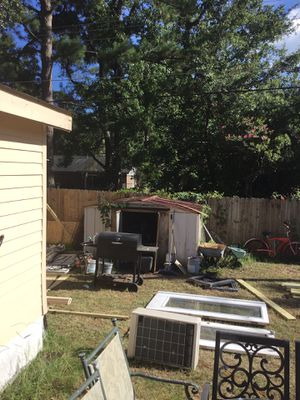 Sturdy shed you take down and haul great shed for Sale in Savannah, GA