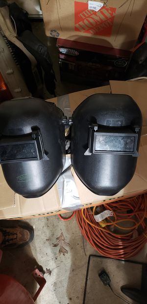 2 welding helmet for Sale in Hampton, VA