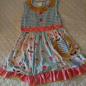 New Girls 5t Boutique Magnolia Cloth Dress for Sale in Fresno, CA
