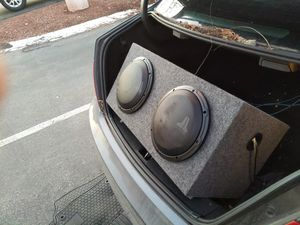 JL Audio Subwoofers and Amp (2 10s) for Sale in Cranberry Township, PA