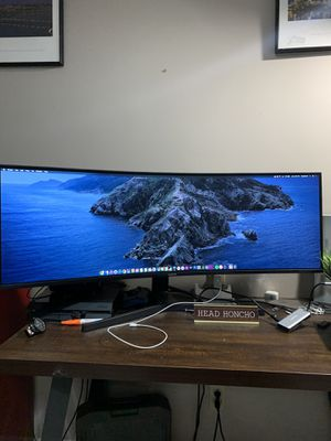 """Samsung 43"""" curved monitor for Sale in Nashville, TN"""