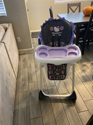 Hello kitty high chair for Sale in Las Vegas, NV