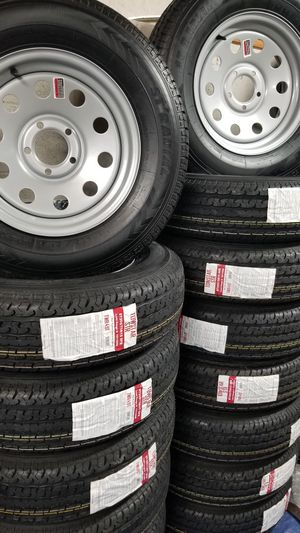 TRAILER AND CAMPER TIRES/WHEELS STARTING AT $70+TAX AND UP SEE BELOW FOR SIZES AND PRICES for Sale in Douglasville, GA