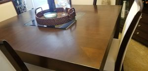 Dining Room Table W/4 Chairs & Server for Sale in Washington, DC