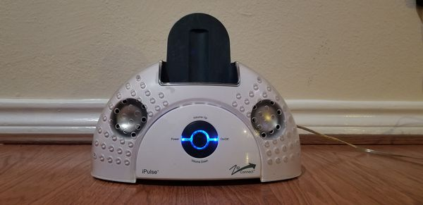Sharper Image IPulse Jukebox Stereo Speakers