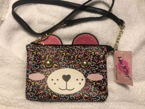 New Betsey Johnson Bear Confetti Purse for Sale in Owings Mills, MD