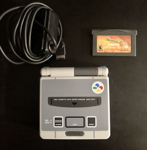 Nintendo GameBoy SP Super Famicom Edition with Game and Charger for Sale in Oceanside, NY