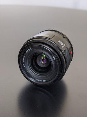 Sony lens Minolta lens for Sale in San Antonio, TX