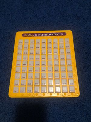 Magic Math Multiplication for Sale in Hubbard, OR