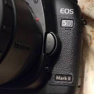 Canon Eos 5D Mark II DSLR Digital SLR Full Frame Camera Lens for Sale in Cupertino, CA
