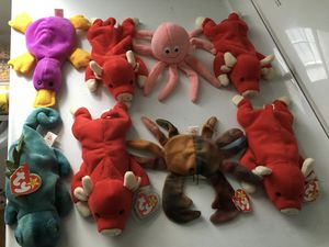 VALUABLE BEANIE BABIES COLLECTION for Sale in Raleigh, NC
