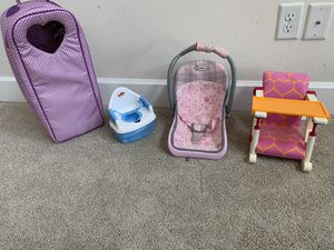 Doll Accessories for Sale in West Richland, WA