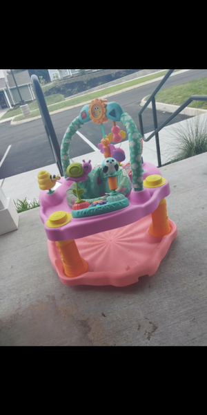 girls exersaucer with matching play mat for Sale in Knoxville, TN