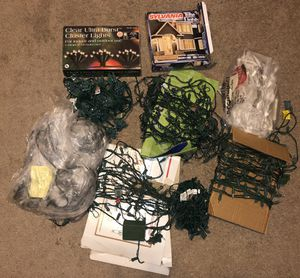 12 Pounds White Christmas lights all work for Sale in Ashburn, VA