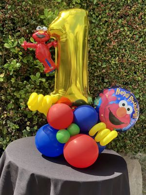 Elmo Balloon Bouquet for Sale in Los Angeles, CA