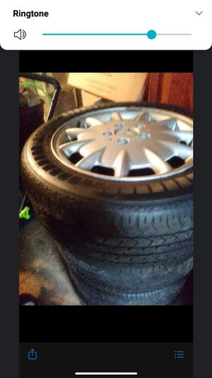 Rims and tires benz wheels 1999. 215. 55 r16 for Sale in Baltimore, MD