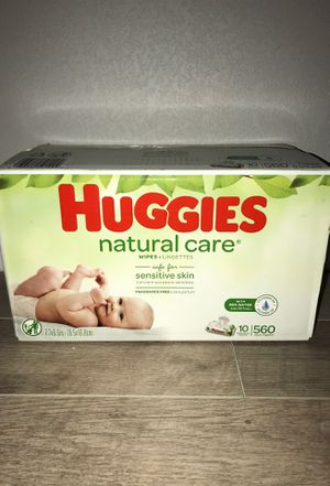 Huggies natural care wipes for Sale in Dallas, TX