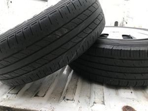 15' Factory wheels and tire. 2x for Sale in Riverdale, GA