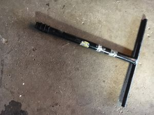 Short T bars scooter with clamp for Sale in Elk Grove Village, IL