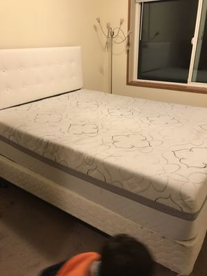 FREE queen mattress with memory foam topper for Sale in Lake Oswego, OR