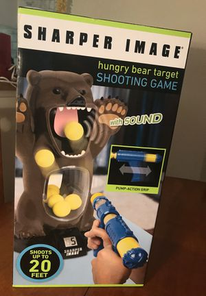 Sharper Image Hungry Bear target shooting game for Sale in Tampa, FL