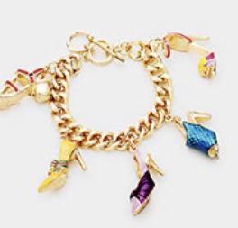 high heel charm bracelet for Sale in Parkville, MD