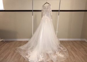 Custom White Ivory Wedding Quinceanera Dress Size 8 From Jade Bridal for Sale in Chicago, IL