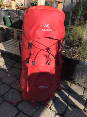 Arcteryx Accrux 65 waterproof backpack for Sale in Happy Valley, OR