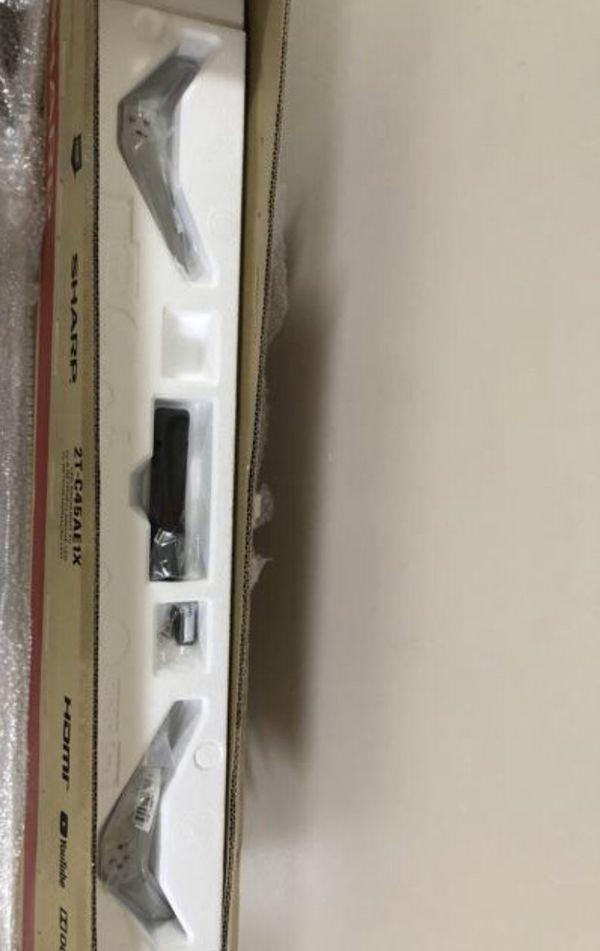 Brand new original SHARP 2TC45AE 45 inch Full HD Easy Smart TV