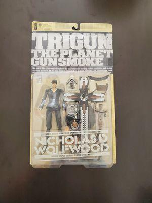 Trigun action figure. Nicholas D Wolfwood for Sale in Artesia, CA
