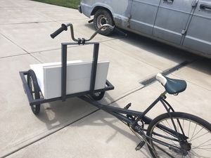 Handmade reverse trike vending bike for Sale in Parma, OH