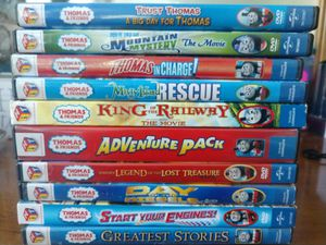 Lot of 15 Thomas the Train DVDs, like new. for Sale in Canonsburg, PA