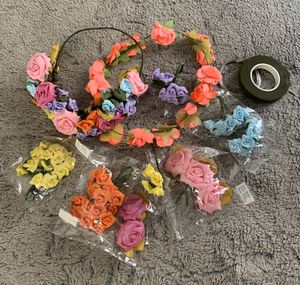 Mixed Flowers for Flower Crowns for Sale in Carson, CA