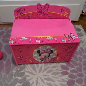 Disney Toy Chest (Mini Mouse) PICK UP ONLY for Sale in Brooklyn, NY