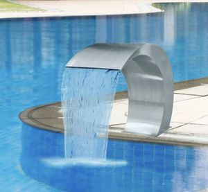 """Stainless steel Pool fountain. In box. 17.75"""" H x 11.75"""" x 23.5"""". Retails $216. Asking $125 + tax for Sale in Woodstock, GA"""