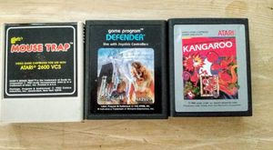 3 classic Atari video games for Sale in Port St. Lucie, FL