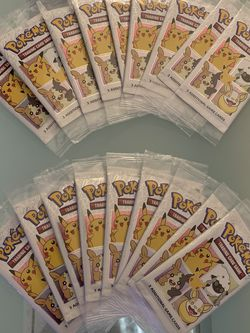 Pokémon Cinnamon Toast Crunch 25th Anniversary Packs / Lot of 18 for Sale in Houston,  TX