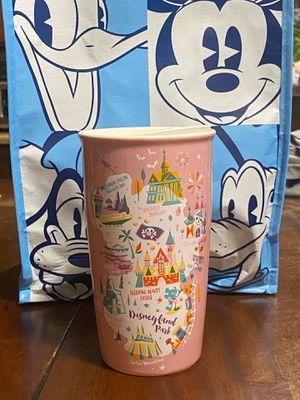 Disneyland Park -Starbucks ceramic tumbler for Sale in Burbank, CA
