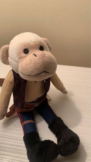 Starwars Han Solo Monkey stuffed toy for Sale in Claremont, CA