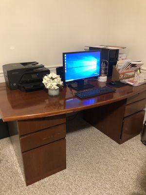 Wooden desk for Sale in Centerville, UT